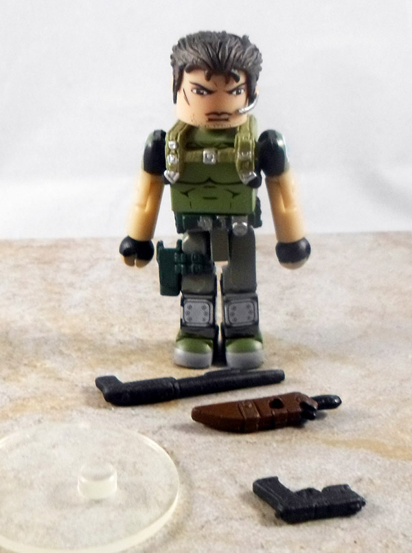 Chris Redfield Partial Loose Minimate (Marvel vs. Capcom Series 2)