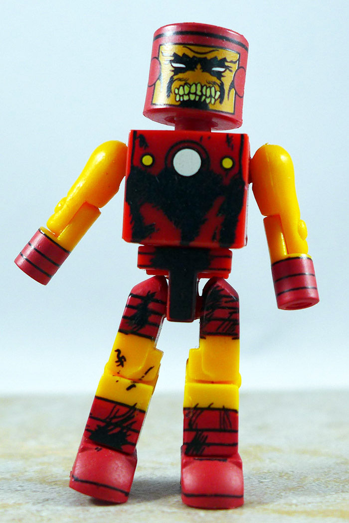 Zombie Iron Man Partial Loose Minimate (Previews Exclusive Two Pack)