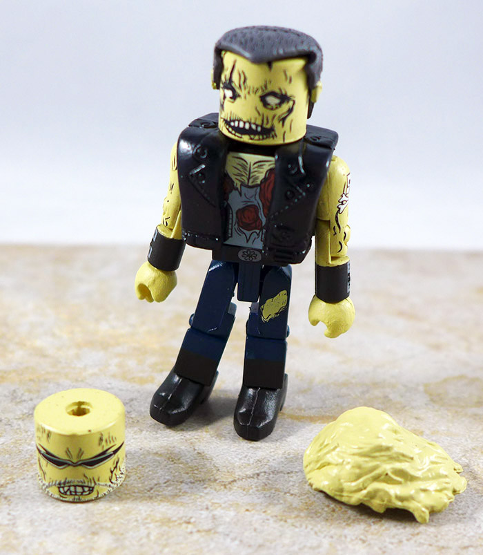 Zombie Biker Loose Minimate (NYCC 2011 Maximum Zombies Two Pack)