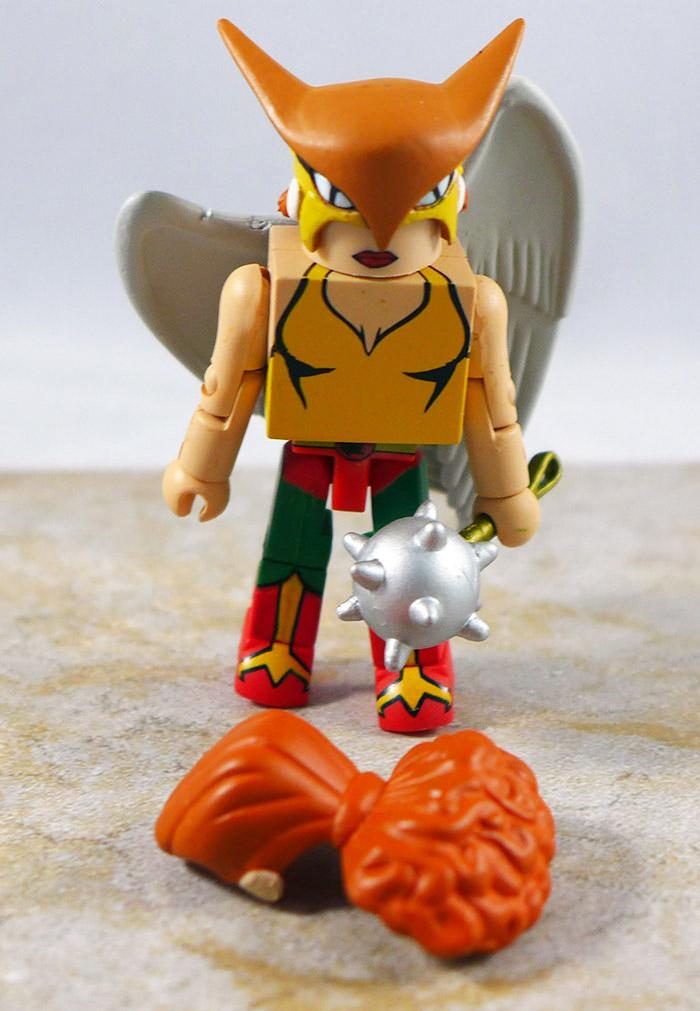 Hawkgirl Loose Minimate (DC Minimates Series 5)