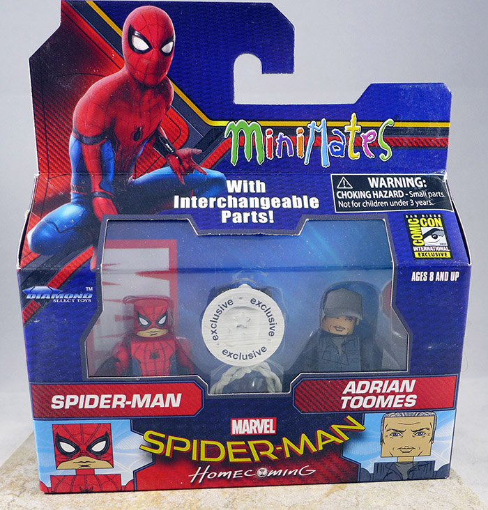 Spider-Man & Adrian Toomes (SDCC Homecoming Exclusive)