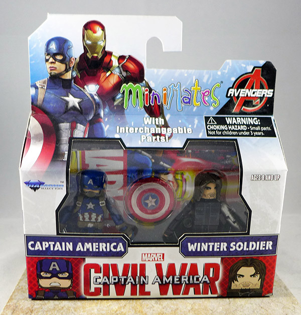 Captain America & Winter Soldier (Wave 66)