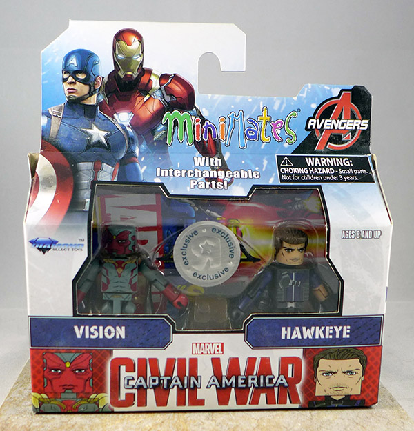Vision & Hawkeye (TRU Captain America: Civil War Wave 1)