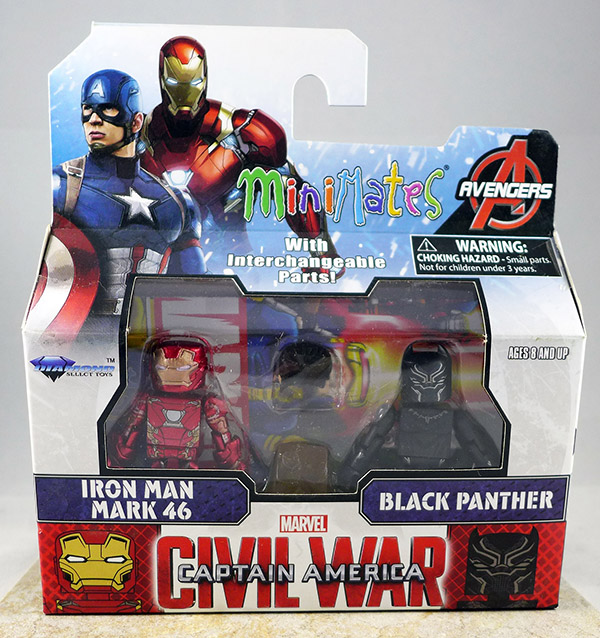 Iron Man Mark 46 & Black Panther (Wave 66)