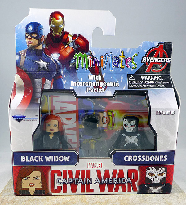 Black Widow & Crossbones (Wave 67)