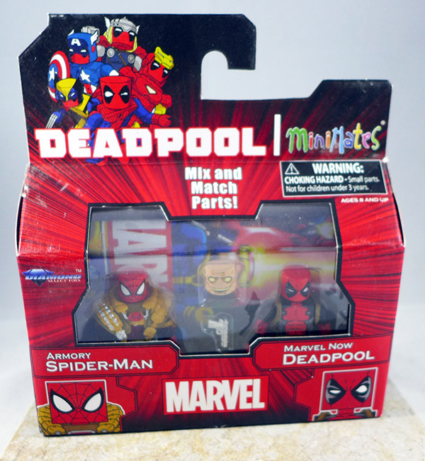 Armory Spider-Man & Marvel Now Deadpool (TRU Wave 22)