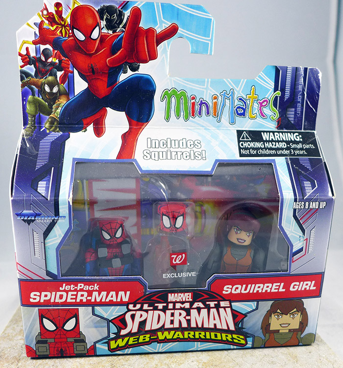 Jet-Pack Spider-Man & Squirrel Girl (Walgreens Wave 3)
