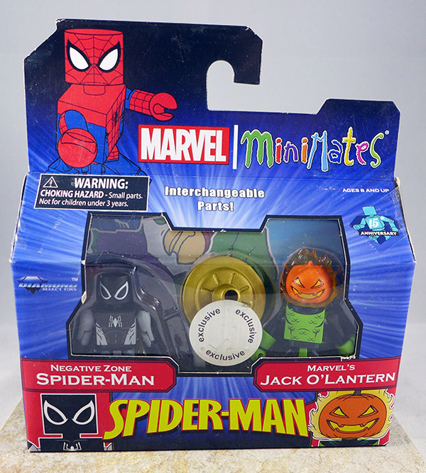 Negative Zone Spider-Man & Marvel's Jack O'Lantern (TRU Wave 25)