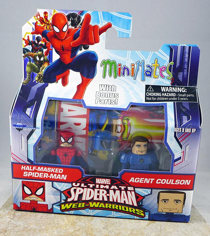Half-Masked Spider-Man & Agent Coulson (Walgreens Wave 1.5)