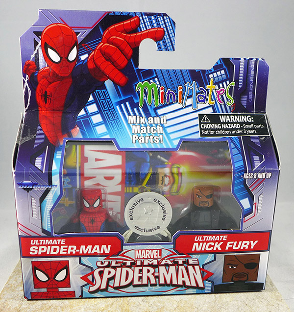 Ultimate Spider-Man & Ultimate Nick Fury (TRU Wave 20)