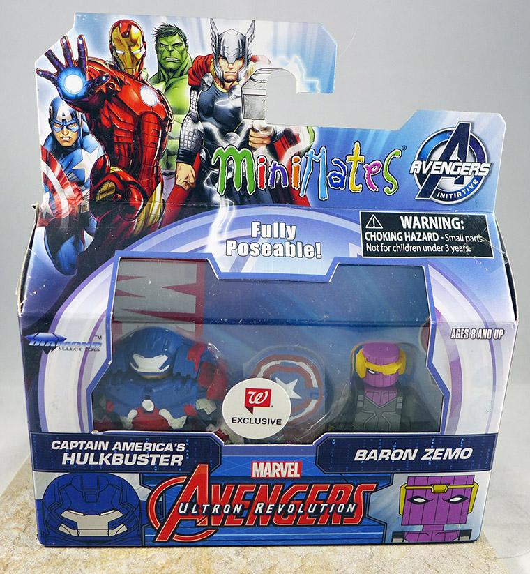 Captain America 's Hulkbuster & Baron Zemo (Walgreens Wave 7)