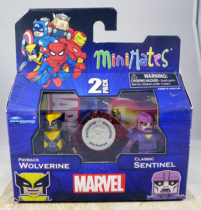 Payback Wolverine & Classic Sentinel (TRU Wave 19)