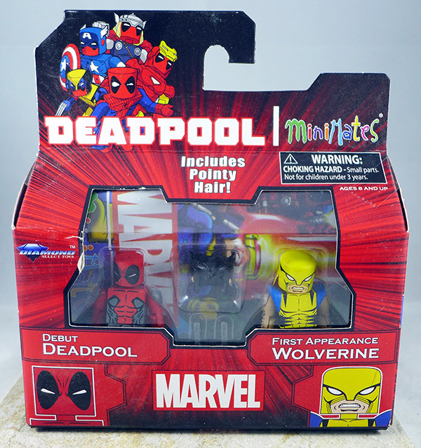 Debut Deadpool & First Appearance Wolverine (TRU Wave 22)