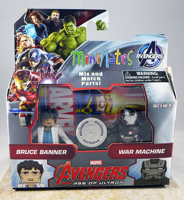 Bruce Banner & War Machine (TRU Avengers: Age of Ultron Wave 2)