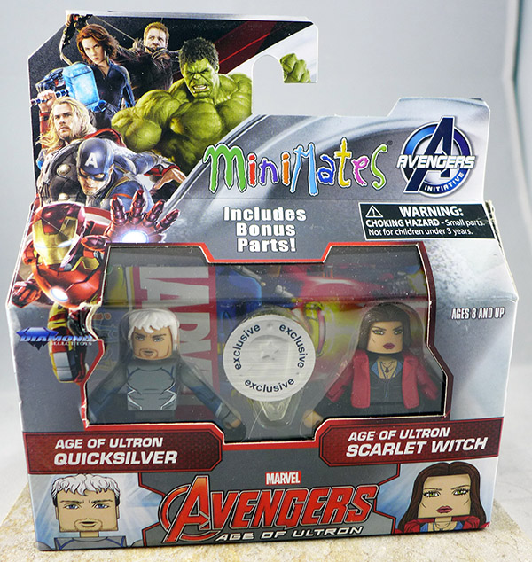 Age of Ultron Quicksilver & Age of Ultron Scarlet Witch  (TRU Avengers: Age of Ultron Wave 1)