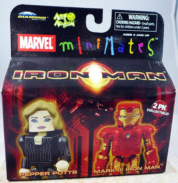 Pepper Potts & Mark III Iron Man (Wave 21)