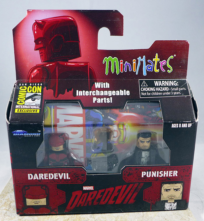 Daredevil & Punisher (SDCC Netflix Two-Pack 2016)