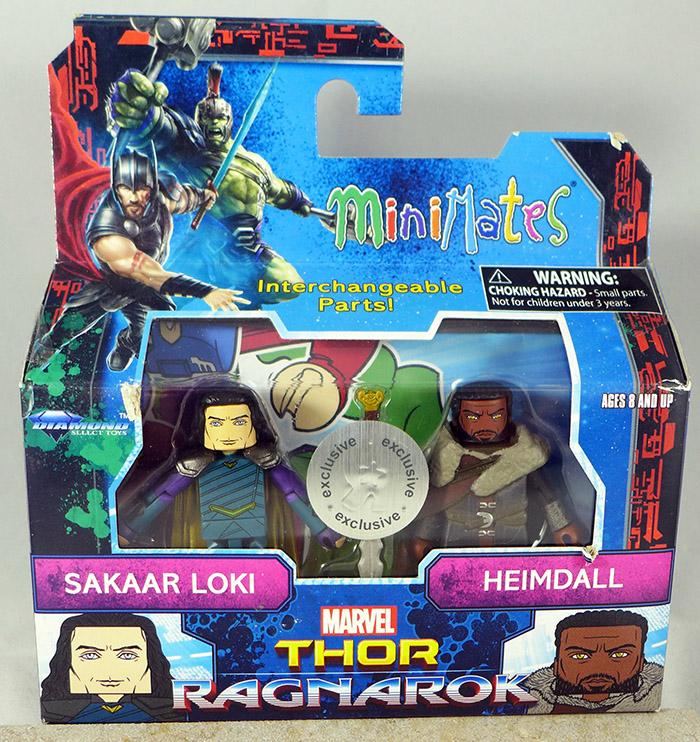 Sakaar Loki & Heimdall (TRU Thor: Ragnarok)