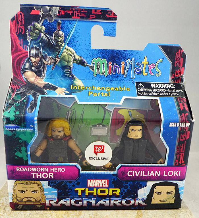 Roadworn Hero Thor & Civilian Loki (Walgreens Thor: Ragnarok)