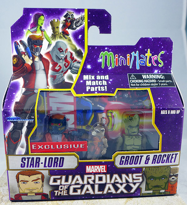 Star-Lord & Groot & Rocket (Walgreens Wave 1)