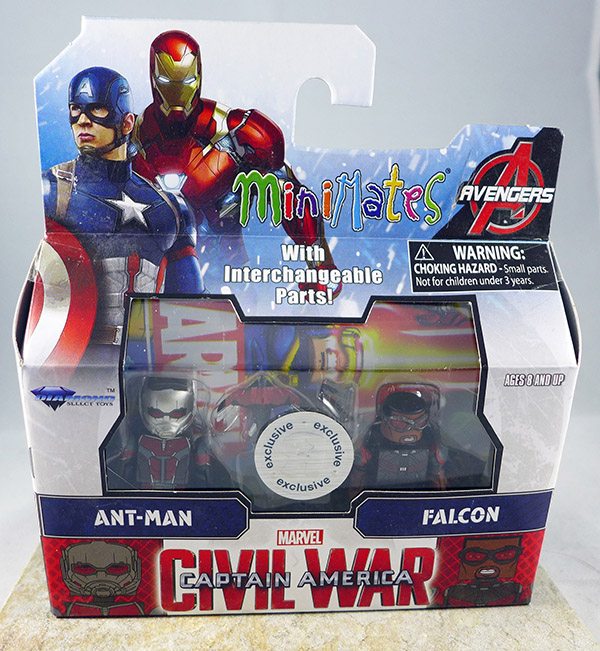 Ant-Man & Falcon (TRU Captain America: Civil War Wave 2)