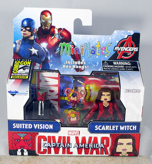 Suited Vision & Scarlet Witch (SDCC Civil War Two-Pack 2016)