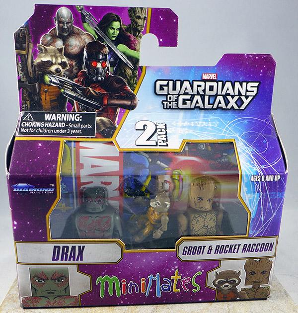 Drax & Groot & Rocket Raccoon (Wave 57)