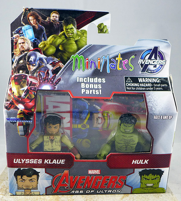 Ulysses Klaue & Hulk (Wave 63)