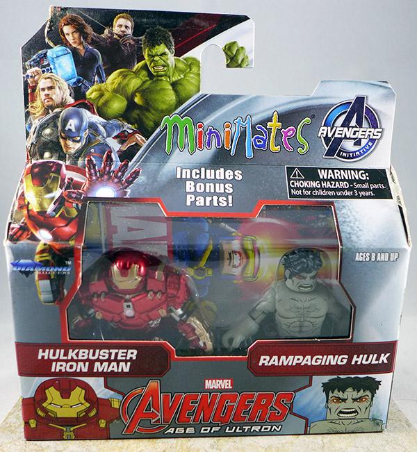Hulkbuster Iron Man & Rampaging Hulk (Wave 63)