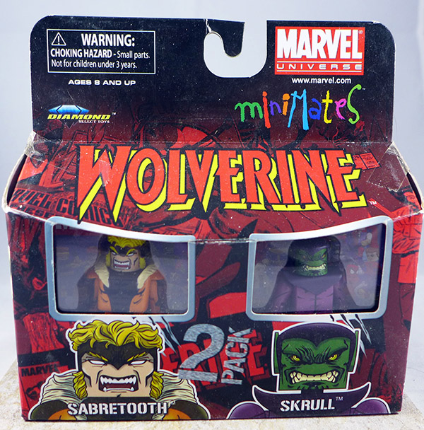 Sabretooth & Skrull (Wave 28)