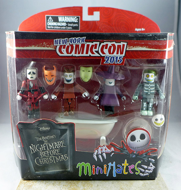 Nightmare Before Christmas NYCC 2015 Box Set