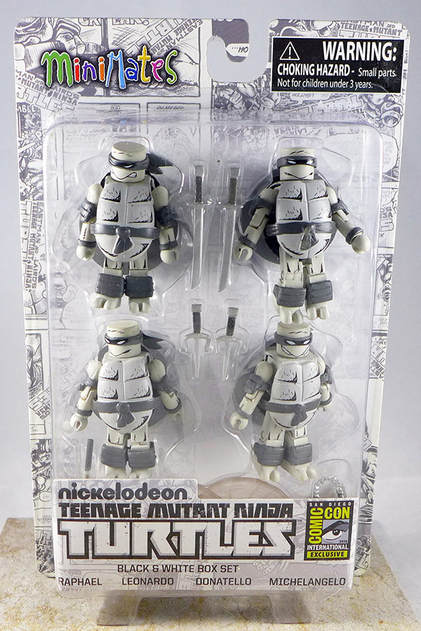 Teenage Mutant Ninja Turtles Mirage Black & White Box Set