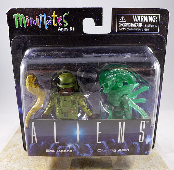 Sgt. Apone & Glowing Alien (Aliens TRU Series 2)