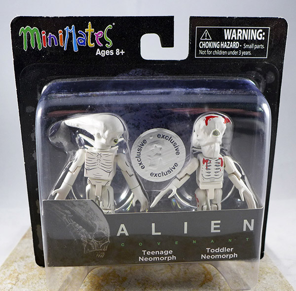 Teenage Neomorph and Toddler Neomorph (Alien: Covenant TRU Series 1)