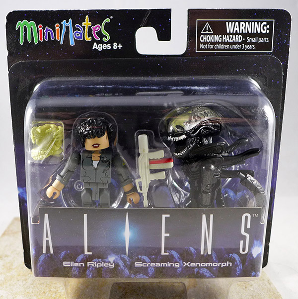 Ellen Ripley & Screaming Xenomorph (Aliens TRU Series 2)