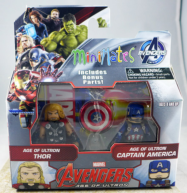 Age of Ultron Thor & Age of Ulron Captain America (Wave 61)