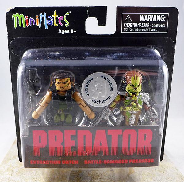 Extraction Dutch & Battle-Damaged Predator (Predator TRU Seies 1)