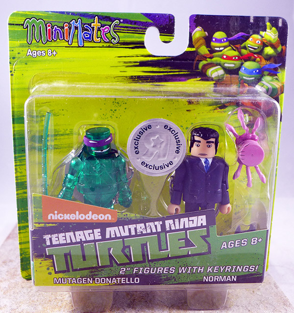 Mutagen Donatello & Norman (TMNT TRU Series 2)