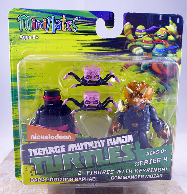 Dark Horizons Raphael & Commander Mozar (TMNT TRU Series 4)