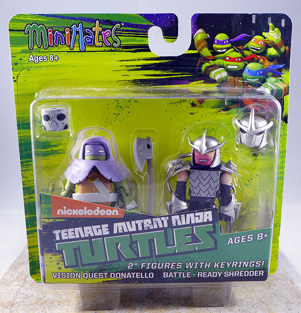 Vision Quest Donatello & Battle-Ready Shredder (TMNT TRU Series 3)