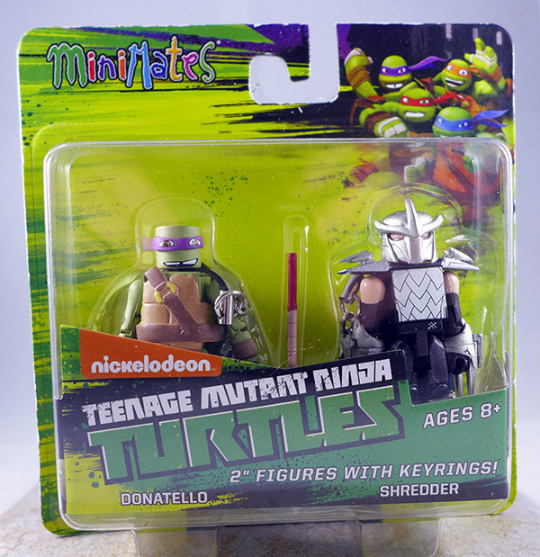 Donatello & Shredder (TMNT TRU Series 1)