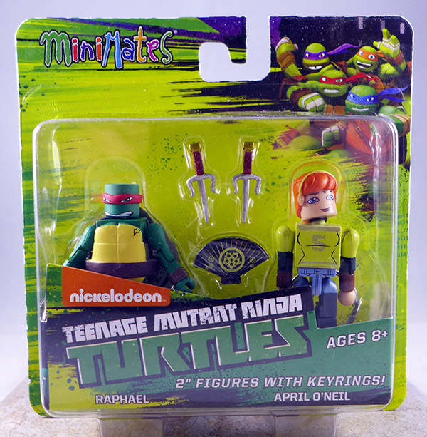 Raphael & April O'Neil (TMNT TRU Series 1)