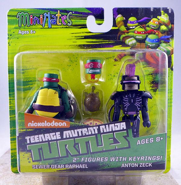 Sewer Gear Raphael & Anton Zeck (TMNT TRU Series 2)