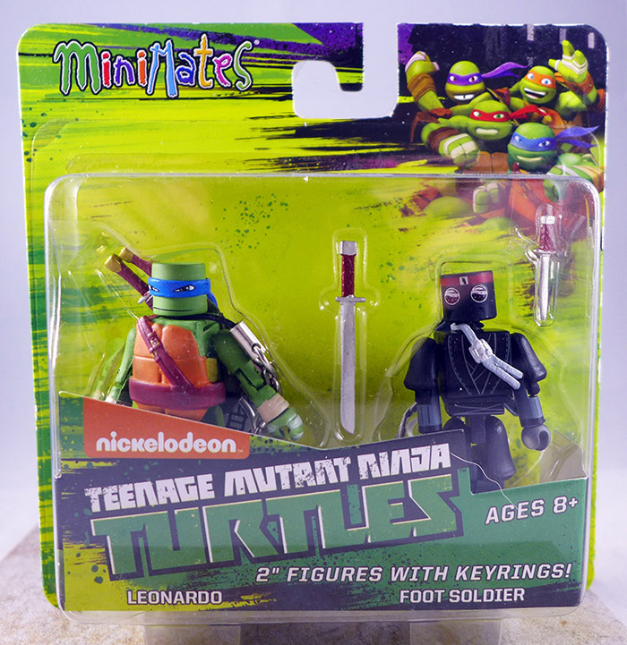 Leonardo & Foot Soldier (TMNT TRU Series 1)