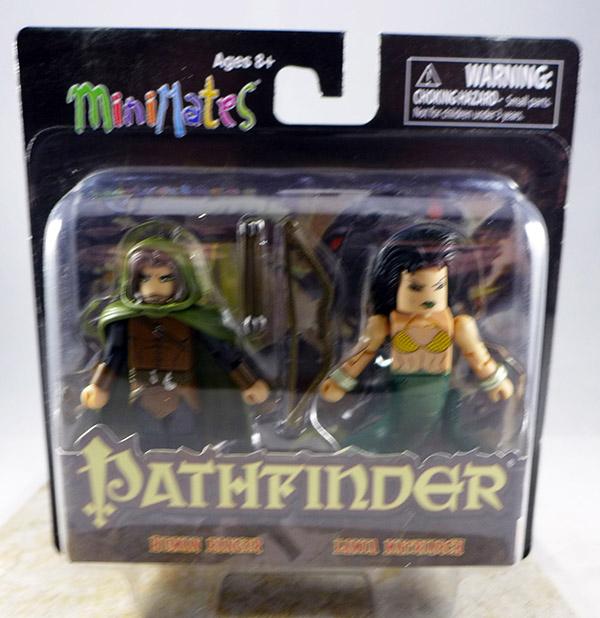 Human Ranger & Lamia Matriarch (Pathfinder GenCon Wave)