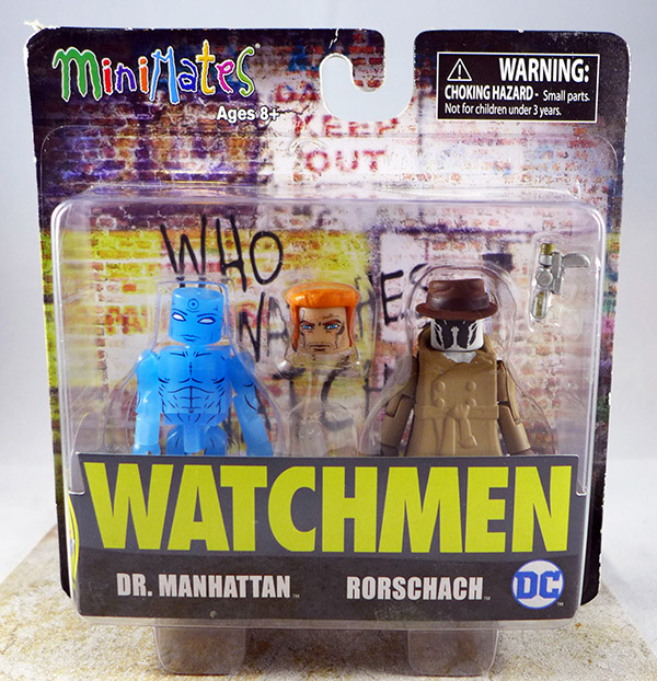 Dr. Manhattan & Rorschach (Watchmen TRU Two-Packs)