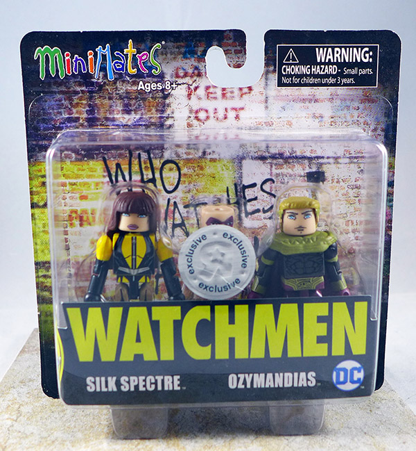 Silk Spectre & Ozymandias (Watchmen TRU Two-Packs)