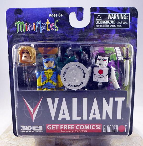 X-O Manowar & Bloodshot (TRU Valiant Exclusives)