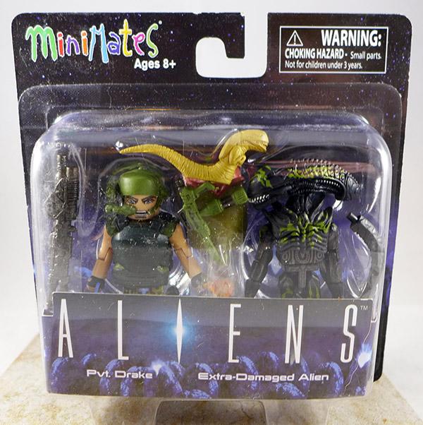 Pvt. Drake & Extra-Damaged Alien (Aliens TRU Series 2)