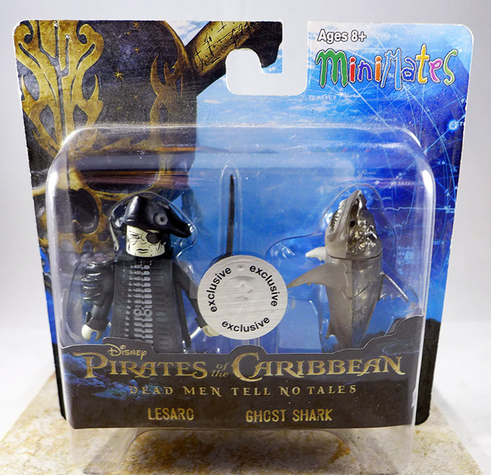 Lesaro & Ghost Shark (Pirates of the Caribbean Dead Men Tell No Tales TRU Wave 1)